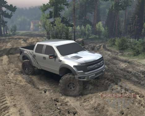 SID Ford Raptor SVT 1.0 für Spin Tires