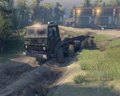Ural 5322 Trocknen für Spin Tires