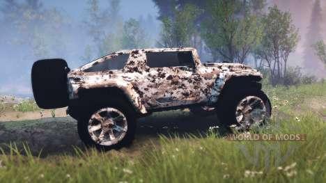 Hummer HX für Spin Tires