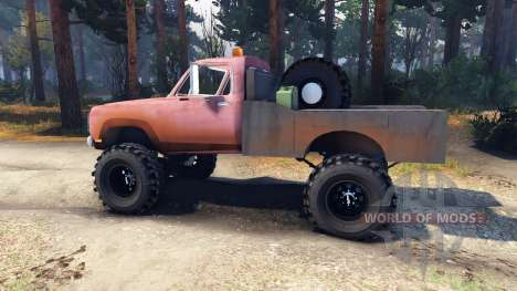Dodge Power Wagon B-17 Rocks für Spin Tires
