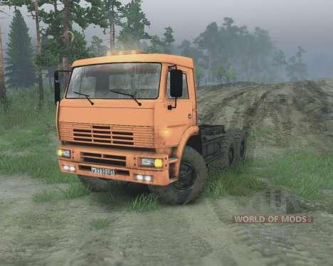 KamAZ 65221 pour Spin Tires