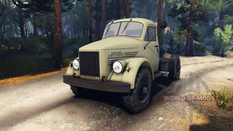 GAZ-63 für Spin Tires