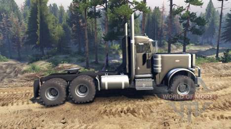 Peterbilt 379 black pour Spin Tires