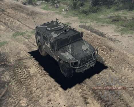GAS 2974 Tiger für Spin Tires