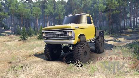 Ford F-100 v1.1 pour Spin Tires