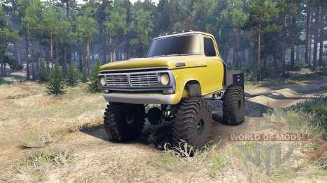 Ford F-100 v1.1 für Spin Tires