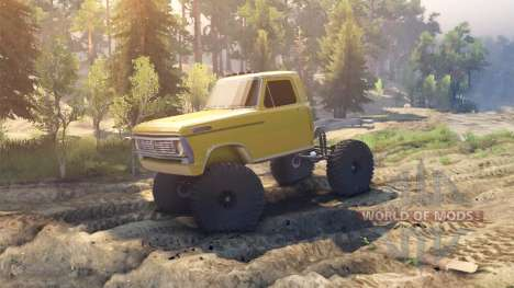 Ford F-100 [Beta] pour Spin Tires