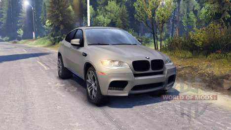 BMW X6 M v2.0 pour Spin Tires