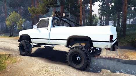 Chevrolet K20 Terror für Spin Tires