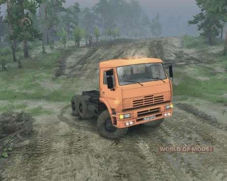 KamAZ 65221 für Spin Tires