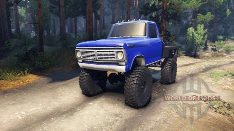 Ford F-100 v1.0 pour Spin Tires