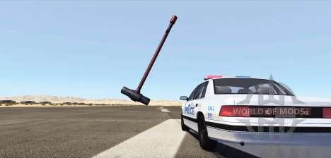 Einem riesigen Vorschlaghammer für BeamNG Drive