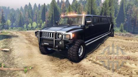 Hummer H3 Limousine pour Spin Tires