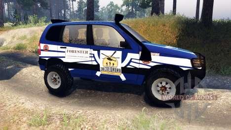 ВАЗ-21236 Chevrolet Niva blue für Spin Tires