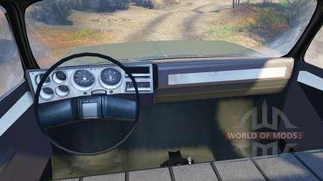 Chevrolet Eclipse CUCV M1008 pour Spin Tires