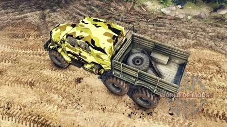 ZIL UAZ pour Spin Tires