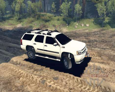 Chevrolet Tahoe pour Spin Tires