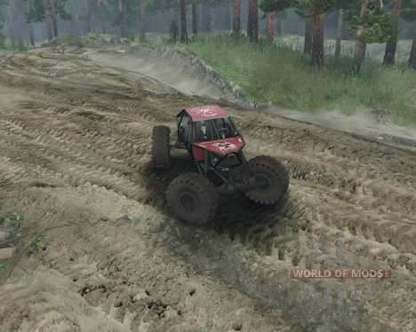 Rock Crawler pour Spin Tires