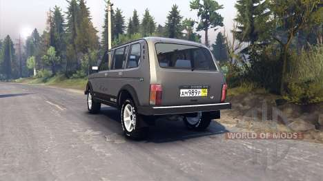 VAZ-2131 pour Spin Tires