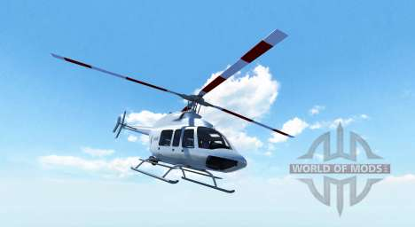 Bell 407 für BeamNG Drive