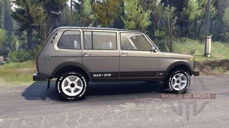VAZ-2131 für Spin Tires