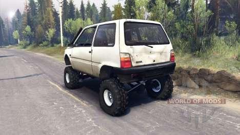 VAZ-1111 Oka für Spin Tires