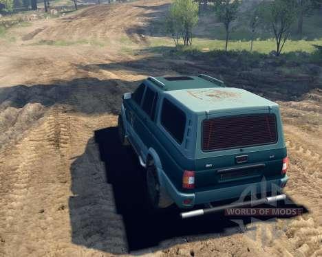 UAZ 23632 für Spin Tires
