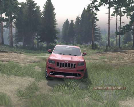 Jeep Grand Cherokee SRT8 pour Spin Tires
