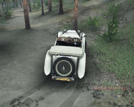 MG TC Midget 48 für Spin Tires