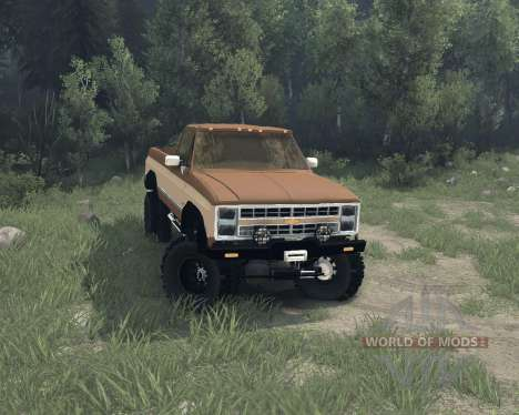 Eclipse Chevy K20 beta v1.1 pour Spin Tires