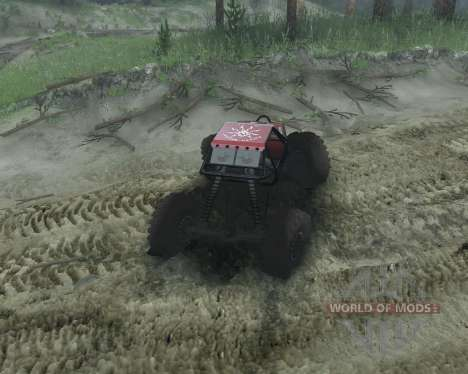 Rock Crawler für Spin Tires
