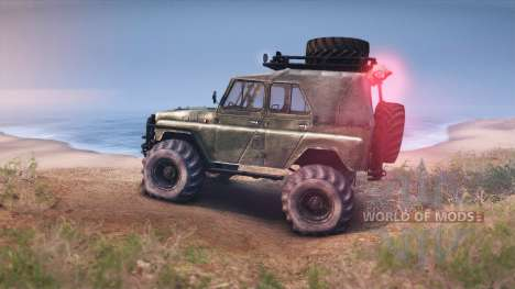 UAZ-469 Turbo pour Spin Tires