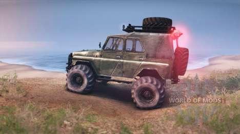 UAZ-469 Turbo für Spin Tires