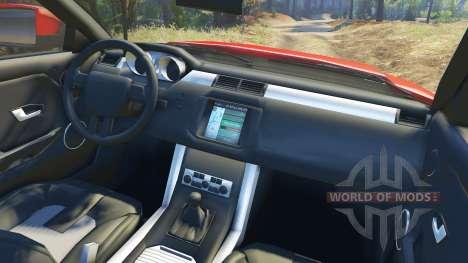 Range Rover Evoque für Spin Tires