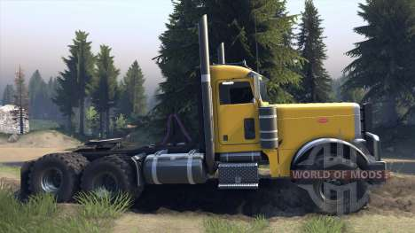 Peterbilt 379 v1.1 yellow pour Spin Tires