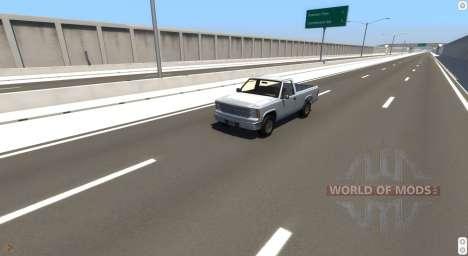 L'Autoroute De La Matrice pour BeamNG Drive