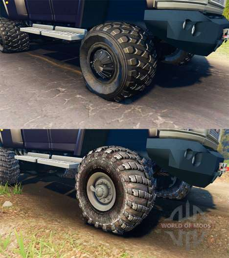 GMC TopKick C4500 Ironhide pour Spin Tires