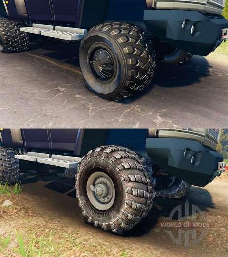 GMC TopKick C4500 Ironhide für Spin Tires