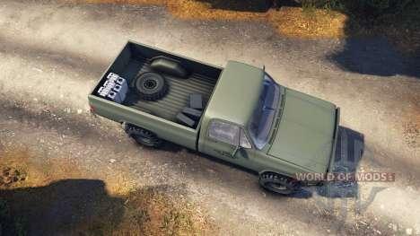 Chevrolet Eclipse CUCV M1008 für Spin Tires