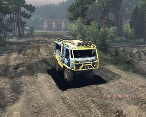 UAZ 3909 off-road für Spin Tires