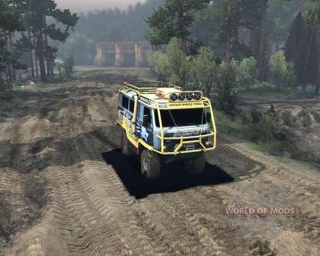 UAZ 3909 off-road pour Spin Tires