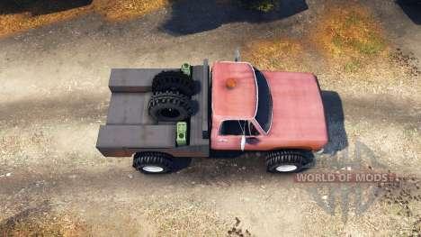 Dodge Power Wagon B-17 Rocks pour Spin Tires