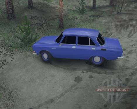 Moskwitsch 2140 für Spin Tires