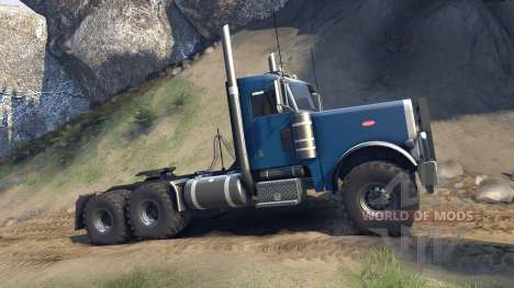 Peterbilt 379 v1.1 light blue für Spin Tires