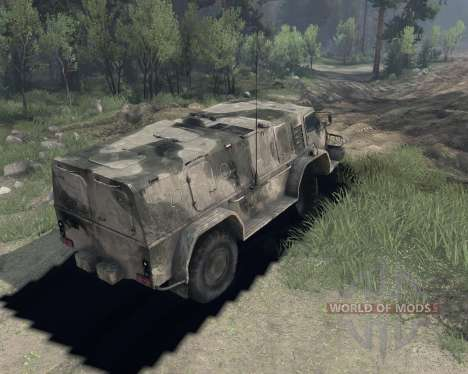 GAZ 3937 pour Spin Tires