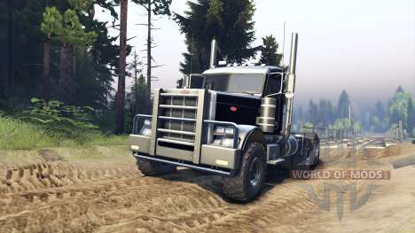 Peterbilt 379 v1.1 black für Spin Tires