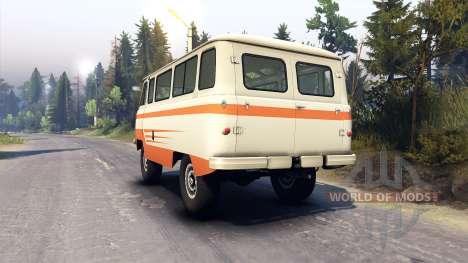 UAZ-450 V [13.04.15] für Spin Tires