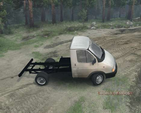 Gazelle 3302 pour Spin Tires