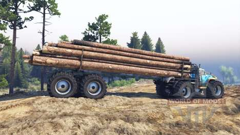 ZIL-130 Terminator v2.0 pour Spin Tires
