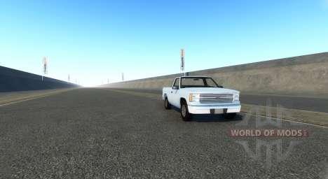 Endlose Autobahn für BeamNG Drive